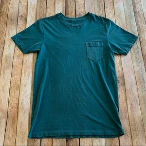 RVCA men's short sleeve pocket tee shirt